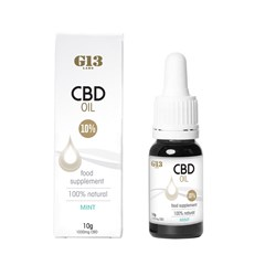 G13 Labs 10% CBD Oil Mint