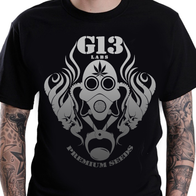 G13 Labs Gradient Logo T-shirt Black