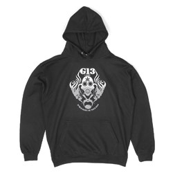 G13 Labs Gradient Logo Hoody - Black