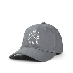 G13 Labs Cross Logo Cap - Grey