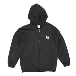 G13 Labs Embroidered Trademark Zip Hoody - Black
